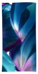 Tulip Blues Hand Towel