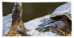 Turtle Conversation Hand Towel
