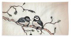 Two Birds Bath Towel