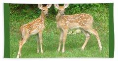 Two Little Deer Bath Towel