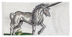 Unicorn Hand Towel by Science Source