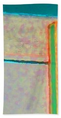 Hand Towel featuring the digital art Up And Over by Richard Laeton