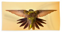 Bath Towel featuring the photograph Usaf Hummingbirds Wings by Randall Branham