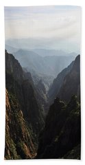 Valley In Huangshan Bath Towel