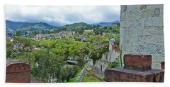 View From The City Walls - Loja - Ecuador Bath Towel