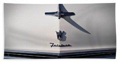 Vintage Ford Fairlane Hood Ornament Hand Towel