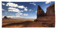 Visions Of Monument Valley  Bath Towel