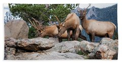 Wapiti Bath Towel