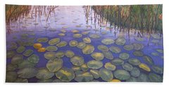 Waterlillies South Africa Hand Towel