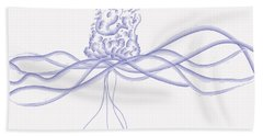 Waveflower Hand Towel
