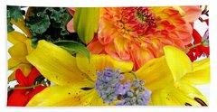 Wedding Flowers Bath Towel by Rory Sagner