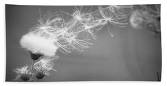 Bath Towel featuring the photograph Weed In The Wind by Deniece Platt