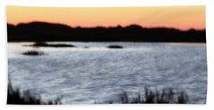 Hand Towel featuring the photograph Wetland by Henrik Lehnerer