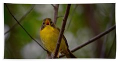 What Warblers Do Hand Towel