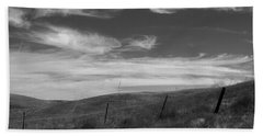 Bath Towel featuring the photograph Whipping Up The Hillside by Kathleen Grace