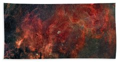 Widefield View Of He Crescent Nebula Hand Towel