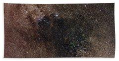 Widefield View Of Star Flux In Cygnus Hand Towel