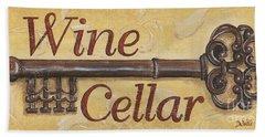 Wine Cellar Bath Towel