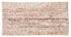 Wool Background Bath Towel