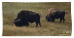 Wyoming Buffalo Bath Towel