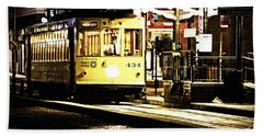 Ybor Train Hand Towel by Angelique Olin