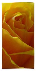 Hand Towel featuring the photograph Yellow Rose Of Texas by Sandra Phryce-Jones