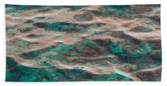 Yellowstone Abstract Bath Towel