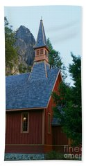 Yosemite Chapel Hand Towel