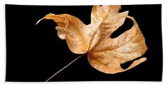 Hand Towel featuring the photograph . . Autumn Dance. . by I'ina Van Lawick