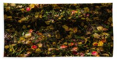 Autumn's Mosaic Hand Towel