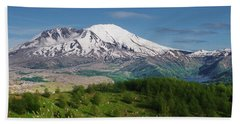 Castle Lake And Mt. St. Helens Hand Towel
