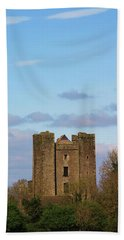 Dunsoghly Castle Hand Towel by Martina Fagan