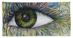 Eye For Details Bath Towel by Kim Tran