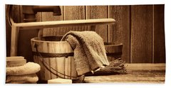 Laundry At The Ranch Hand Towel by American West Legend By Olivier Le Queinec