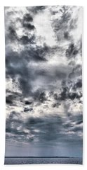 Bath Towel featuring the photograph  Mental Seaview by Jouko Lehto