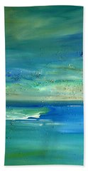 Pearls Of Tranquility Seascape 1 Hand Towel
