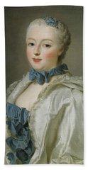Portrait Of Francoise-marguerite De Sevigne  Bath Towel