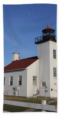 Sand Point Lighthouse Escanaba Hand Towel
