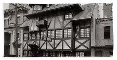Scranton Pa Zenke's Alt Heidelberg Restaurant Early 1900s Bath Towel