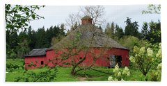 Spring At The Round Barn Hand Towel