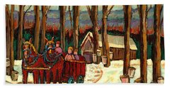 Sugar Shack Hand Towel