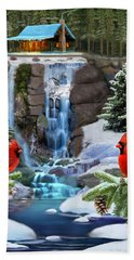 The Cardinal Rules Bath Towel by Glenn Holbrook