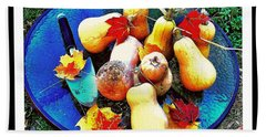 The Harvest   Hand Towel by MaryLee Parker