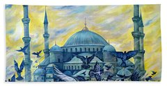 Turkey. Blue Mosque Bath Towel
