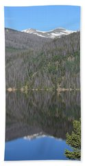 Chambers Lake Reflection Hwy 14 Co Hand Towel