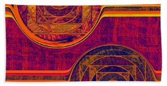 0523 Abstract Thought Bath Towel