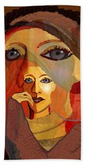 1636 - Quiet Observation 2017 Hand Towel by Irmgard Schoendorf Welch