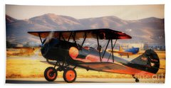 1926 Stearman Speedmail Bath Towel