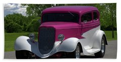 1933 Ford Vicky Bath Towel by Tim McCullough