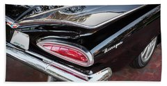 1959 Chevrolet Biscayne   Hand Towel by Rich Franco